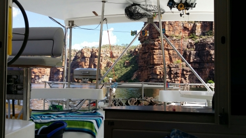 Boat view King George