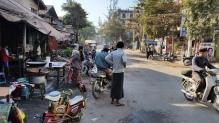 Dusty Mandalay street