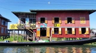 Housing on Inle Lake