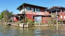 Stilt housing on Inle Lake