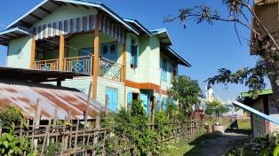 Typical village housing