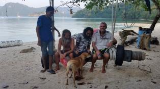 Zen, Johnny, Norman & Ian