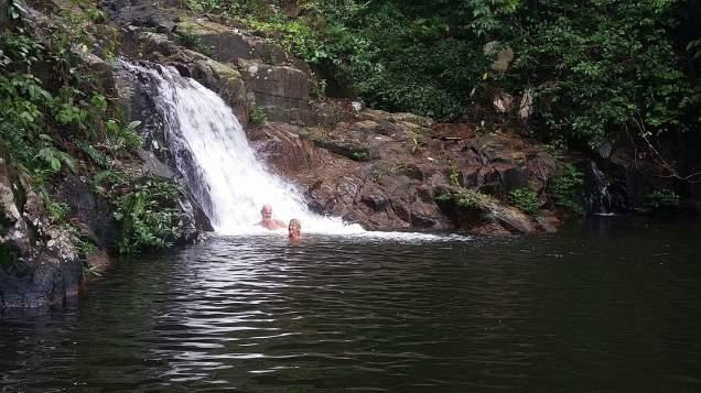 Vince & I waterfall